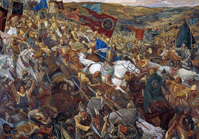 The Attack of a Regiment in Ambush. By Pavel Popov