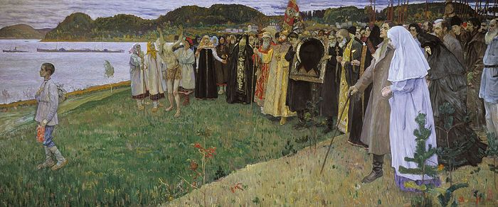 Mikhail Nesterov. The Soul of the People