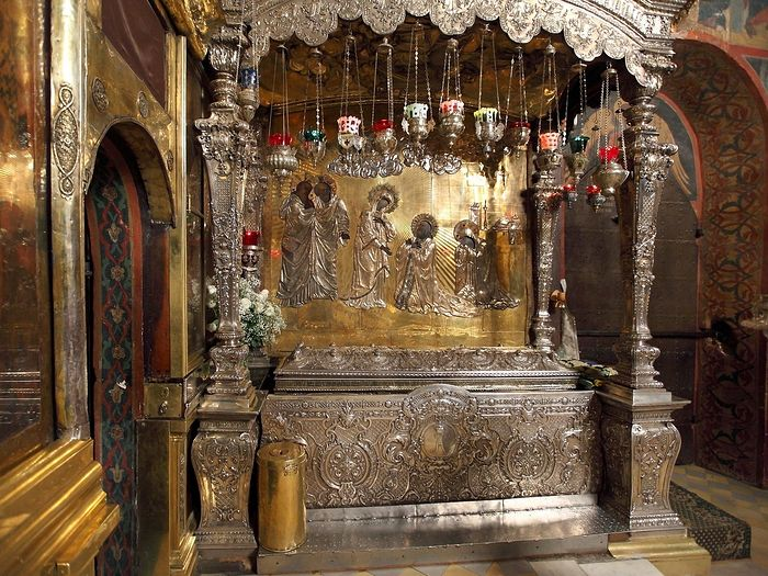 The relics of St. Sergius