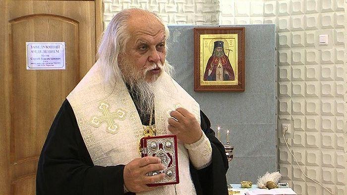 Епископ Пантелеимон с 1990 года является настоятелем храма благоверного царевича Димитрия при Первой градской больнице Москвы.