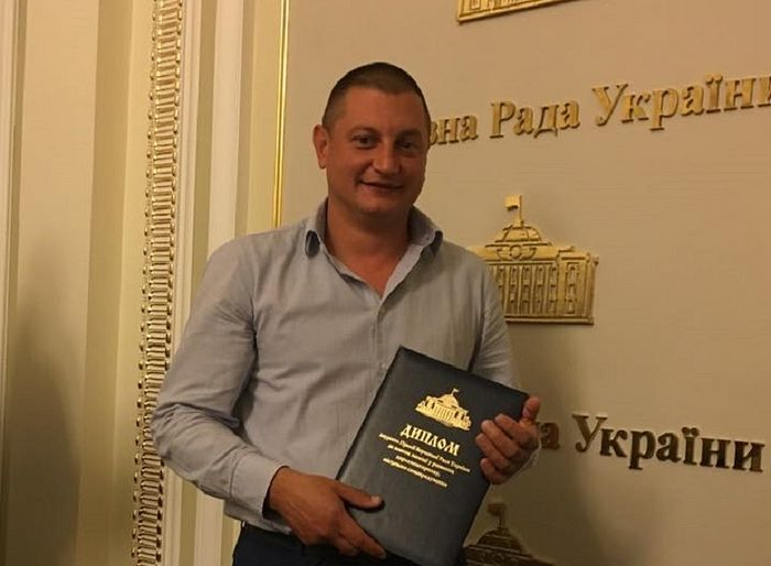Andrei Grachov, the Vinnitsa official who publicly threatened the clergy and faithful of the UOC. Photo: news.church.ua