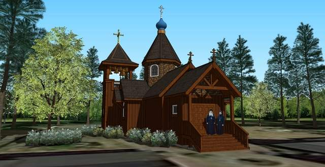 Rendering courtesy of The James Bryant Group This rendering of a monastery of a Russian Orthodox Church on Vashon Island in Washington's Puget Sound resembles a Russian Orthodox skete, a smaller version of a monastery, that is planned off Highway 53 west of Rathdrum. The property owner is seeking a conditional-use permit through Kootenai County for the use.