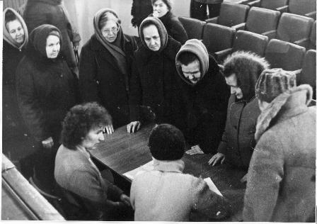 Собрание по вопросу организации православной общины