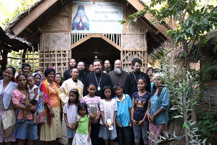 Archbishop Sergei of Solnechnogorsk visits the Philippines in 2015. Photo: mospat.ru