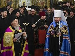 Patriarch Bartholomew formally grants tomos of autocephaly to Ukrainian schismatic church