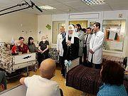 В праздник Рождества Христова Патриарх Кирилл посетил Научно-исследовательский институт детской онкологии и гематологии