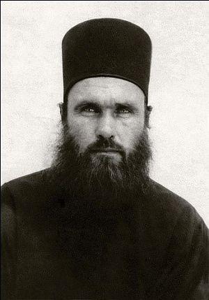 Јеромонах Иполит (Халин). Манастир Светог Пантелејмона, Атон. 1973. г.