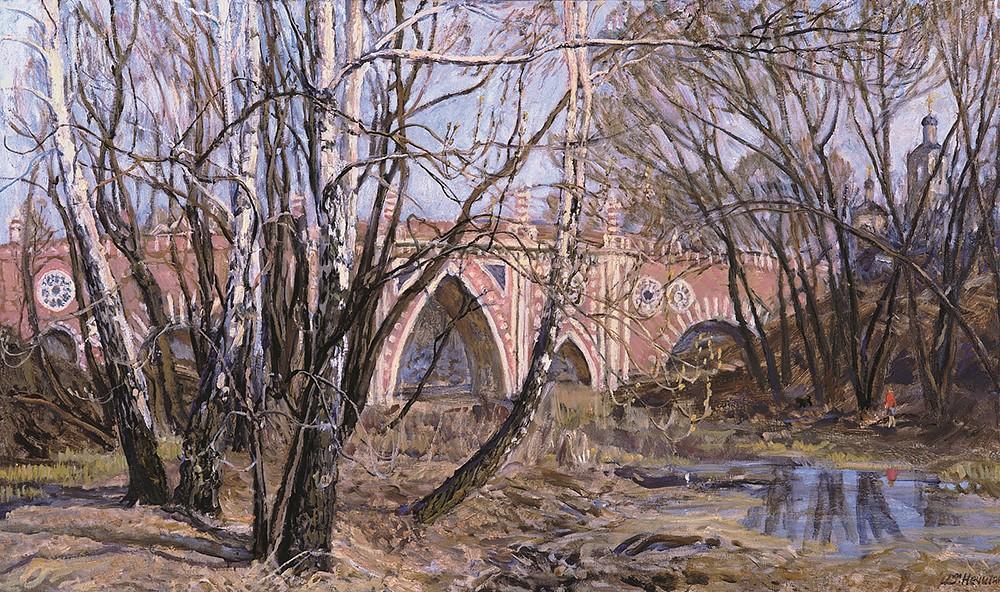 April in Tsaritsyno
