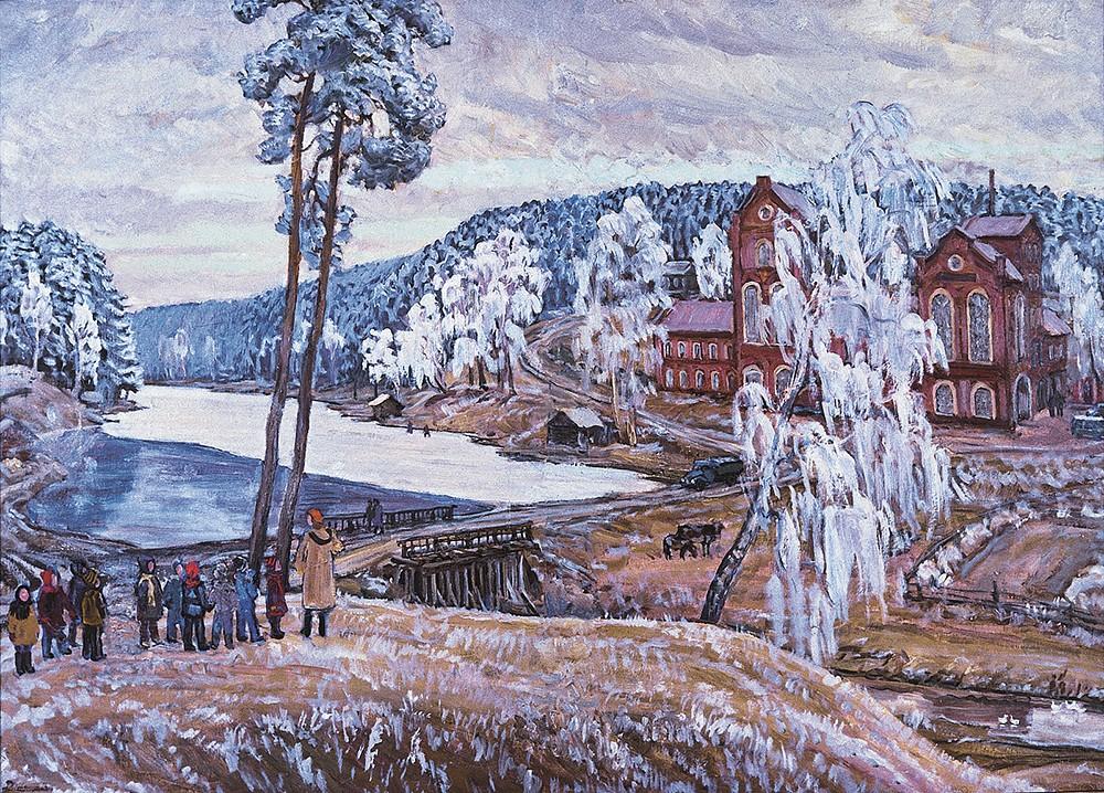 Петровский завод в Сибири