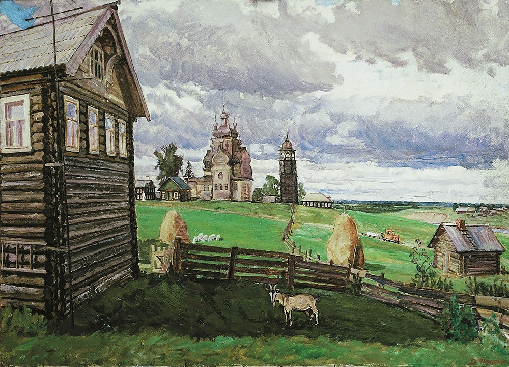 Turchasovo. The Russian north