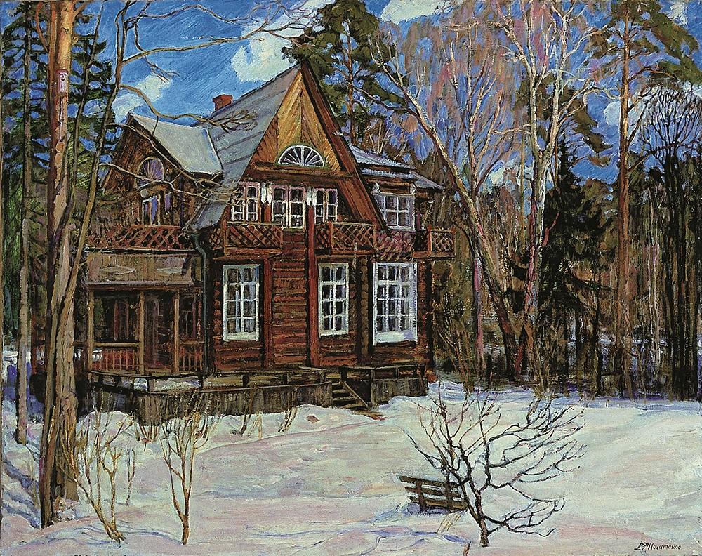 The Kravchenko house