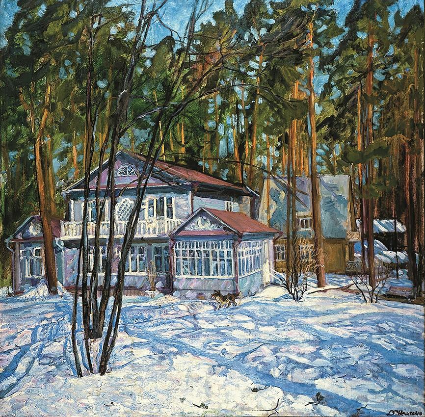The Mikhailov house