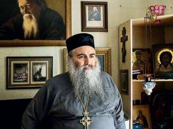 Настоятель монастыря архимандрит Афанасий (Селичев). Фото Сергея Петрова