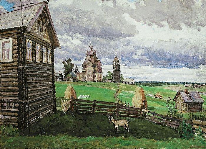 Dmitry Nechitaylo. Turchasovo. The Russian North
