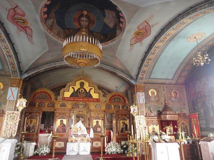 Храм в Ново-Дивеево, который расписывал отец Николай Папков