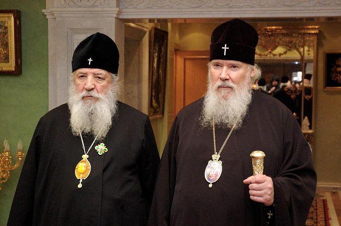 Митрополит Лавр и Патриарх Алексий