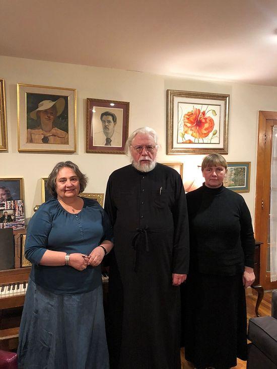 В гостях у протоиерея Андрея Папкова и его матушки Натальи