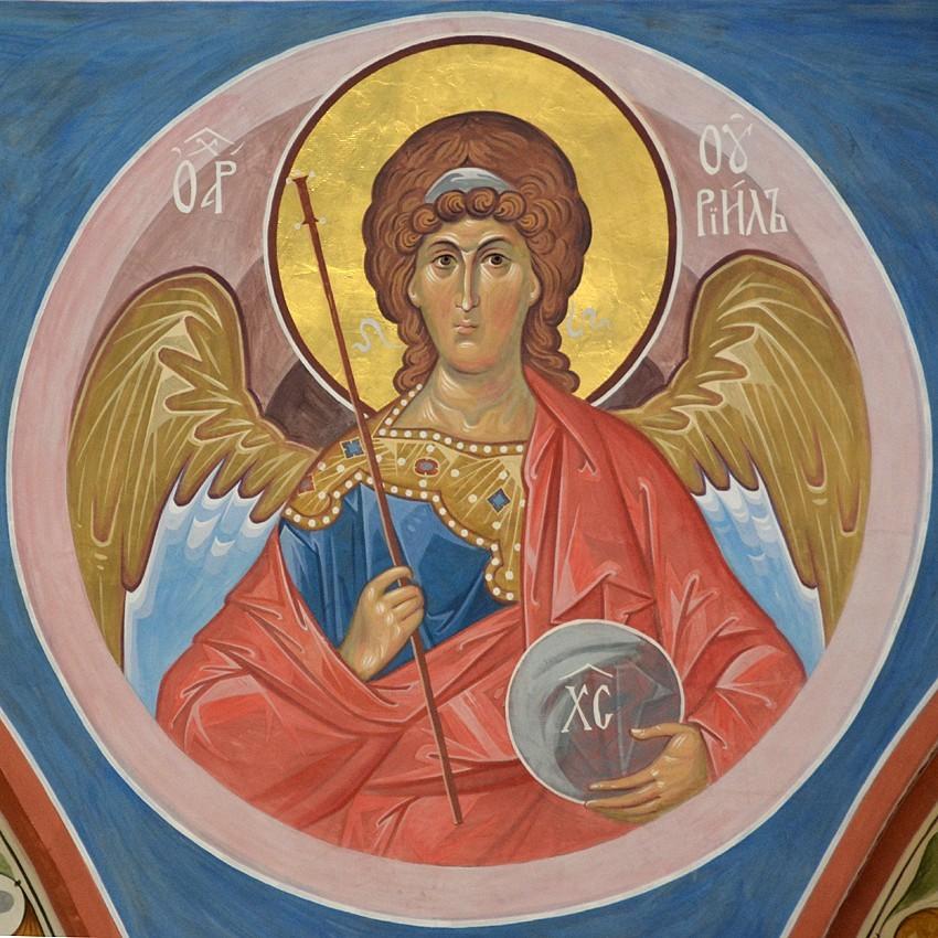 Αρχάγγελος Ουριήλ. Ψηφιδωτό