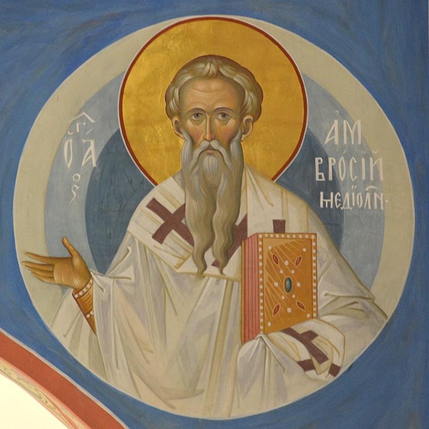 Άγιος Αμβρόσιος, Επίσκοπος Μεδιολάνων
