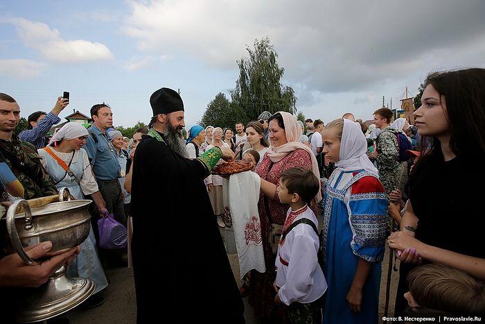 Встреча в Кондаково. Фото: Василий Нестеренко / Православие.Ru