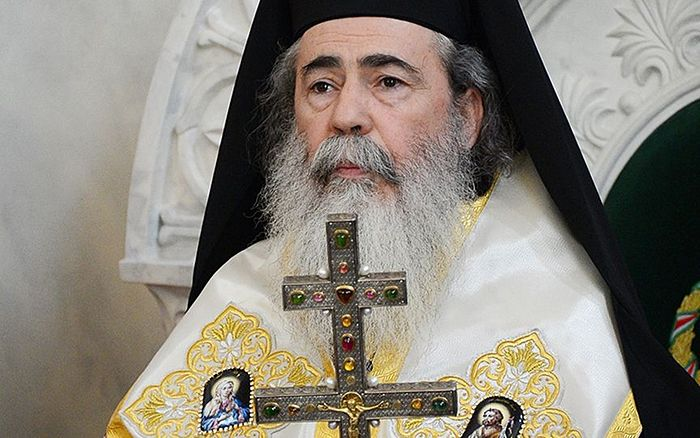 Patriarch Theophilos III of Jerusalem. Photo: st.rublev.com