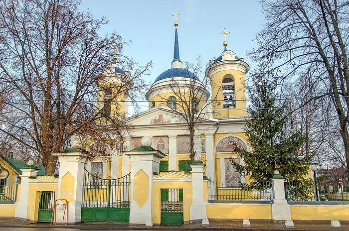 Покровский храм в Акулове