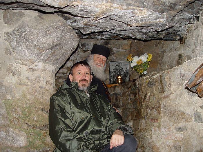 р.Б. Рафаил с отцом Валерианом