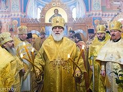 Constantinople Exarch says head of Belarusian Church doesn't want autocephaly because he's afraid of spiritual growth of his flock