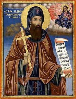 New Monk-Martyr Gideon of Karakallou. Photo: johnsanidopoulos.com