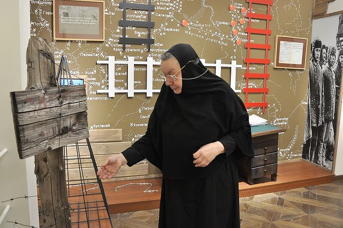 Монахиня Илариона (Сухова). Фото: Денис Кожевников/ТАСС
