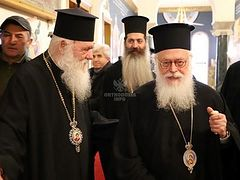 Archbishops of Greece and Albania meet to discuss Ukrainian issue