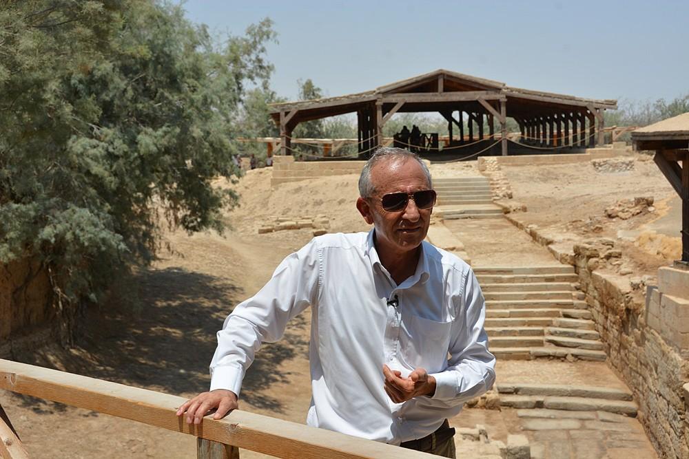 Директор историко-туристического комплекса в Вифании Заиорданской Рустем Мхжиян