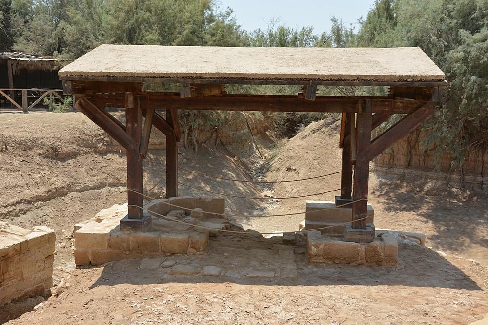Ανασκαφές του παρεκκλησιού στο σημείο Βάπτισης του Χριστού