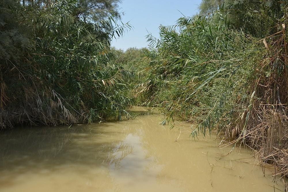 Место купания в Иордане рядом со Странноприимным домом