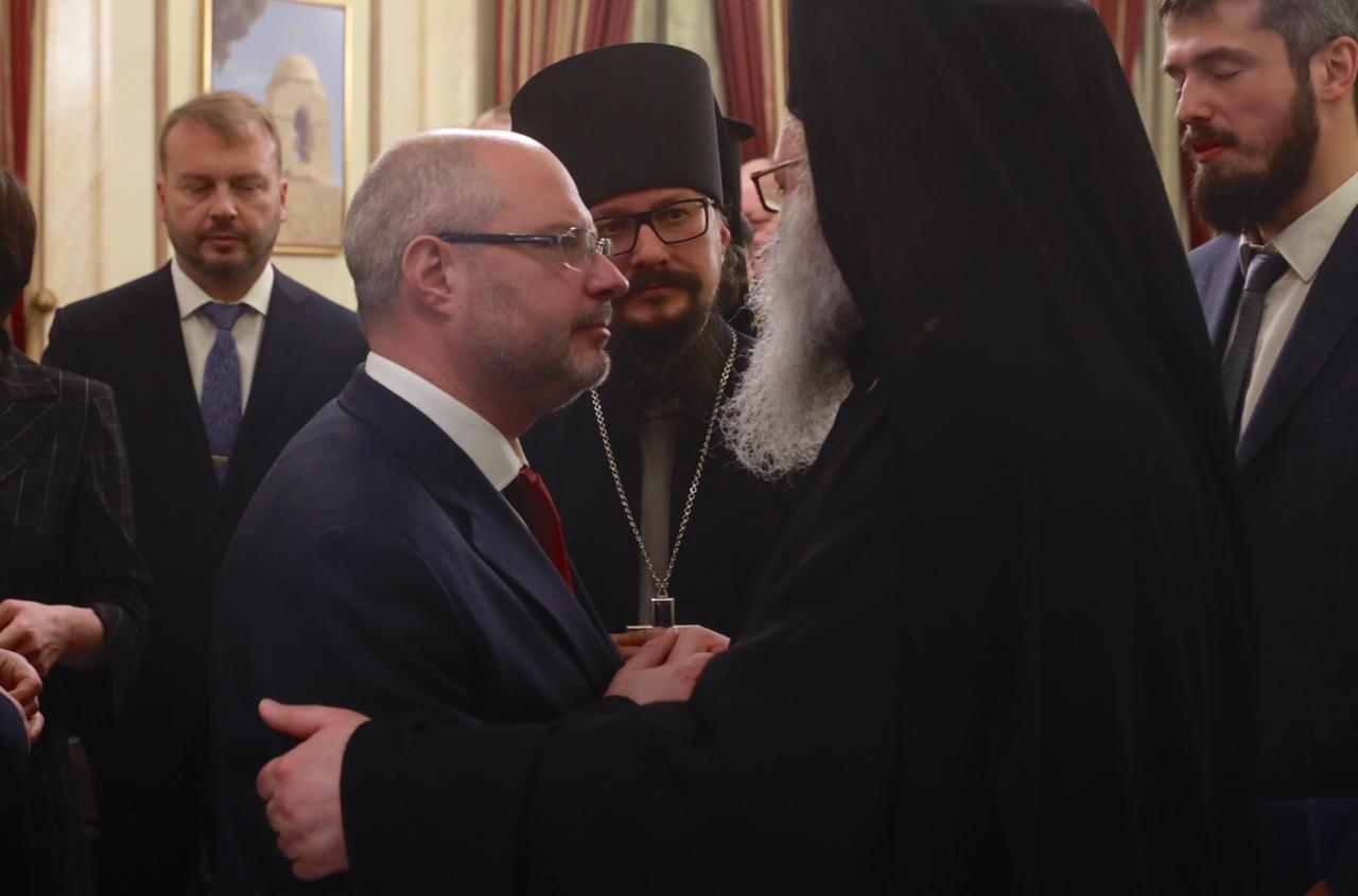 Российские парламентарии встретились с Патриархом Антиохийским и всего Востока Иоанном X