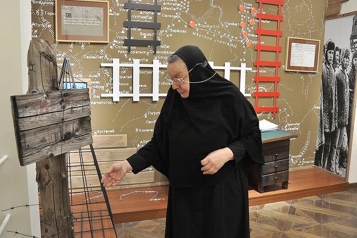 Монахиња Илариона (Сухова). Фото: Денис Кожевников/ТАСС