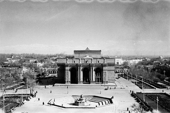 Ташкент, 50-е года