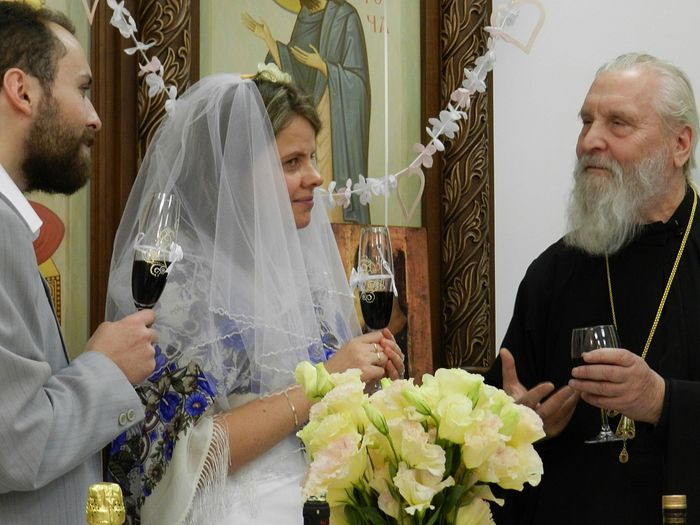 The Velikanovs' wedding