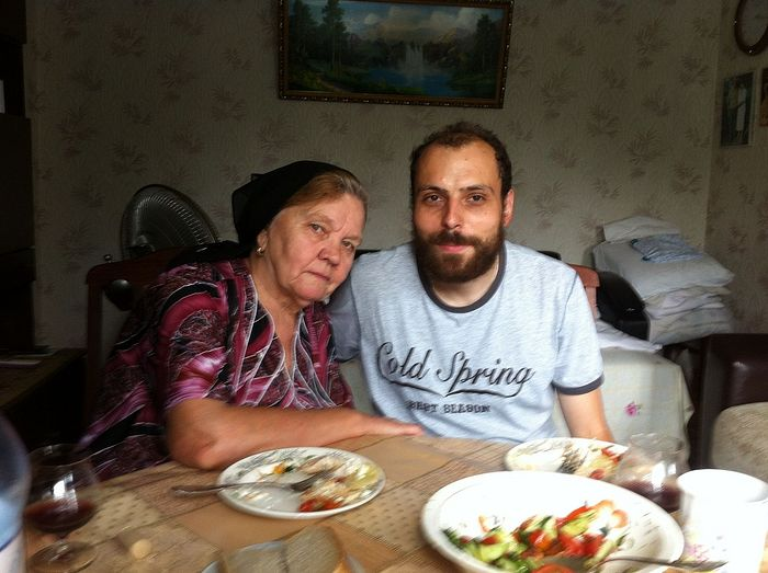 George Velikanov is visiting Svetlana Vasilievna, Natalia's grandmother