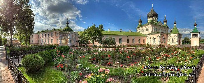 Киевский Покровский монастырь сегодня