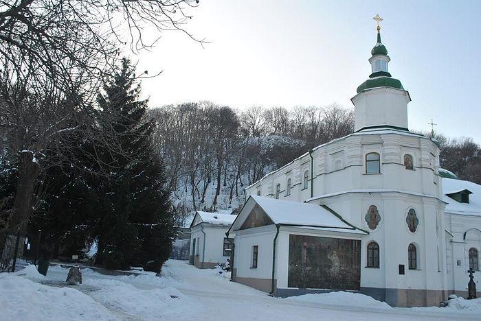 Флоровский монастырь. Никольский храм.