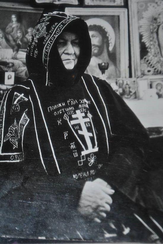 Схимница Евникия
