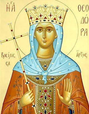 Преподобная Феодора, царица Эпира