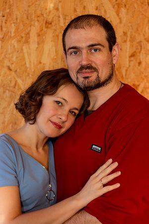 Антон и Элина Алиповы