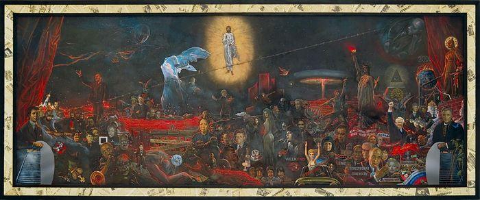 """""""The Mystery of the Twentieth Century"""". Artist: Ilya Glazunov. Glazunov.ru."""