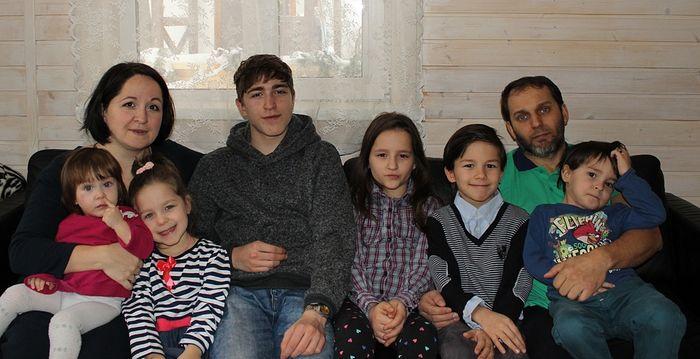 Семья Кузьминых