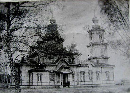 Храм, где служил о. Платон Воздвиженский