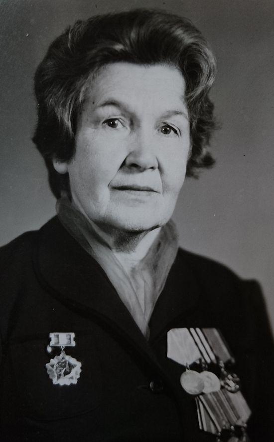 Людмила Платоновна Воздвиженская. 1990 г.