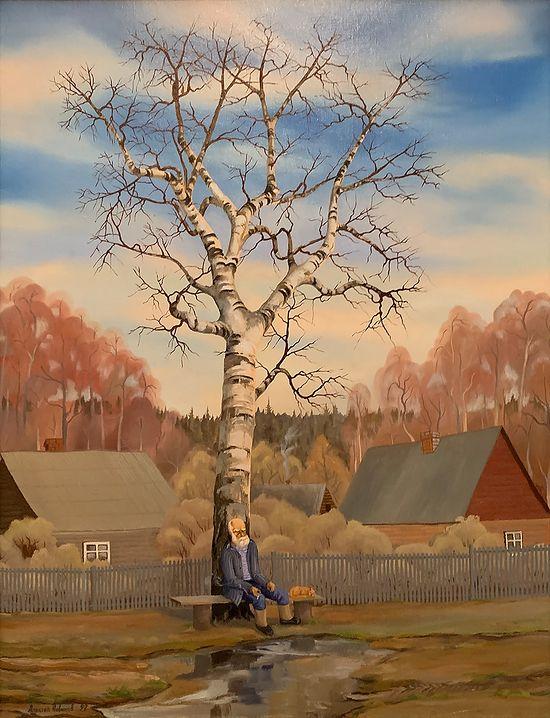Весна. Х. м. 1992