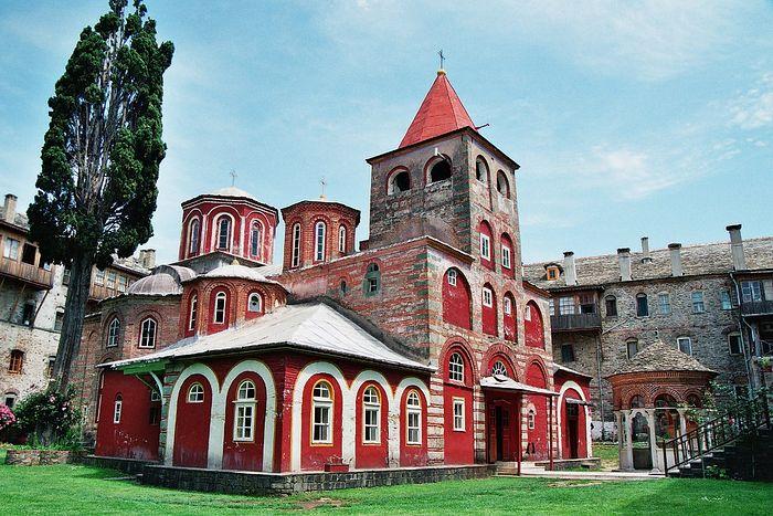 Philotheou Monastery, Mt. Athos. Photo: pravoslavie.ru